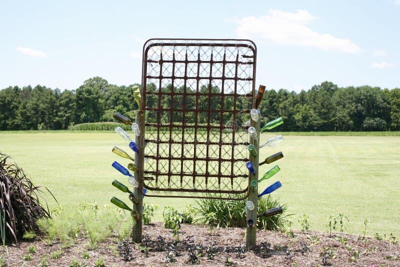 Уникально дисплей на западном центре сельскохозяйственного исследования Теннесси стоковые изображения