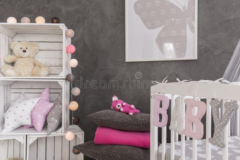 Уникально комната для уникально ребёнка стоковые фотографии rf