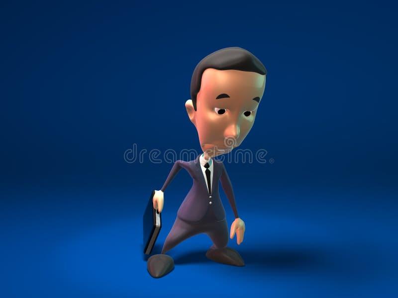 Унылый бизнесмен Бесплатное Стоковое Изображение