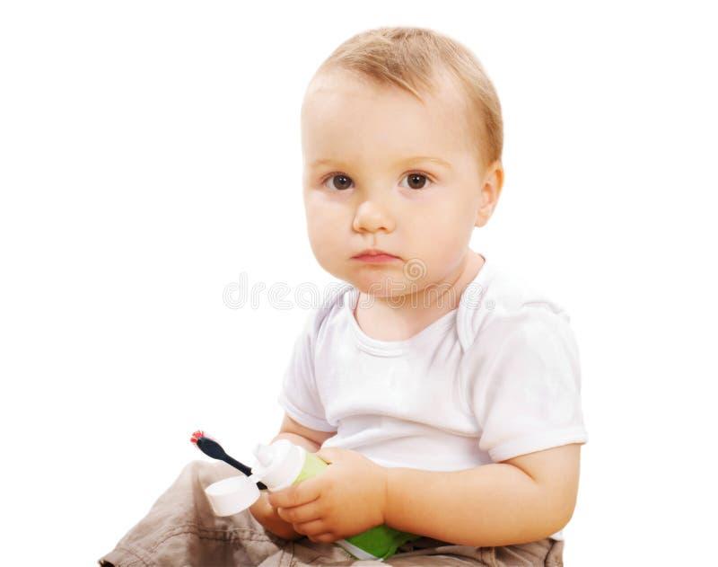 унылый малыш стоковое фото rf