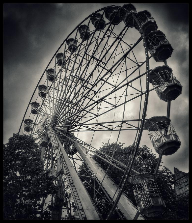 Унылый Carousel стоковые изображения
