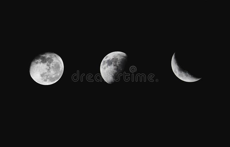 луны 3 стоковое фото