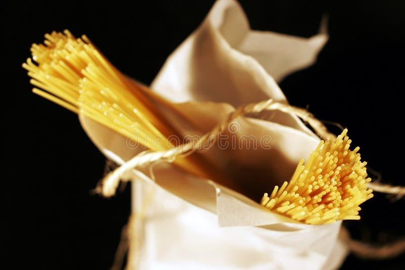 упакованное спагетти стоковое фото rf