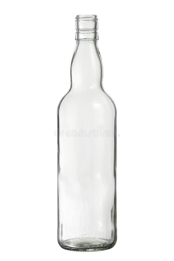 Упаковка вискиа стеклянной бутылки стоковая фотография rf