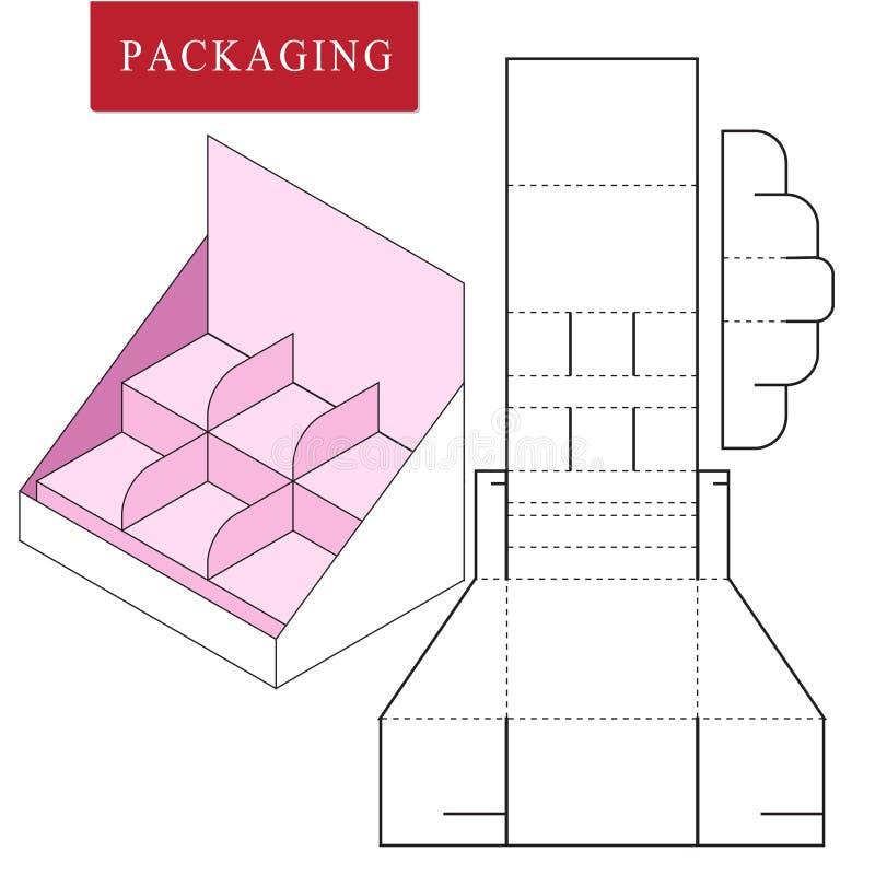 Упаковка для продукта косметики или skincare бесплатная иллюстрация
