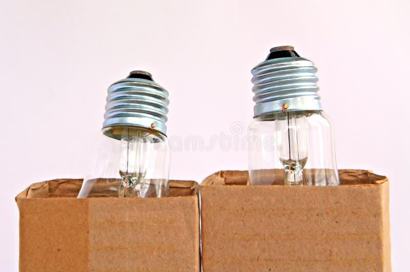 упаковка света шарика стоковые изображения rf