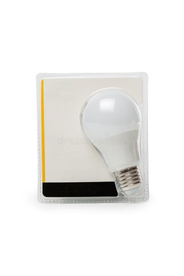 упаковка света шарика стоковая фотография rf