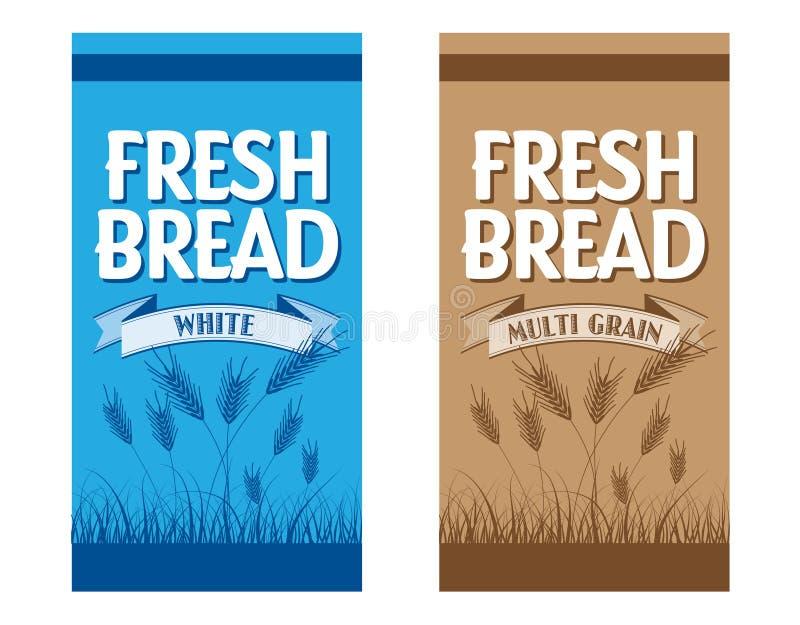Упаковывать хлеба бесплатная иллюстрация
