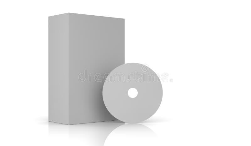 упаковывая белизна иллюстрация вектора