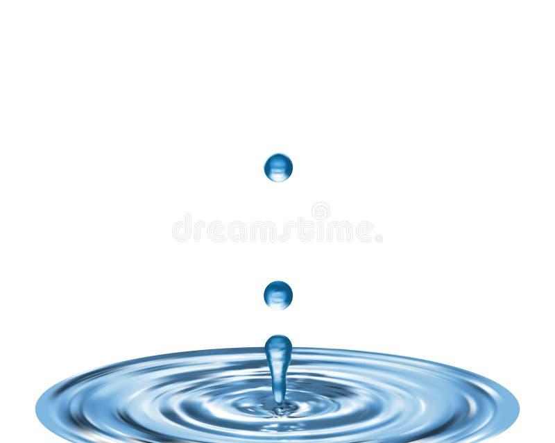 упадите вода бесплатная иллюстрация
