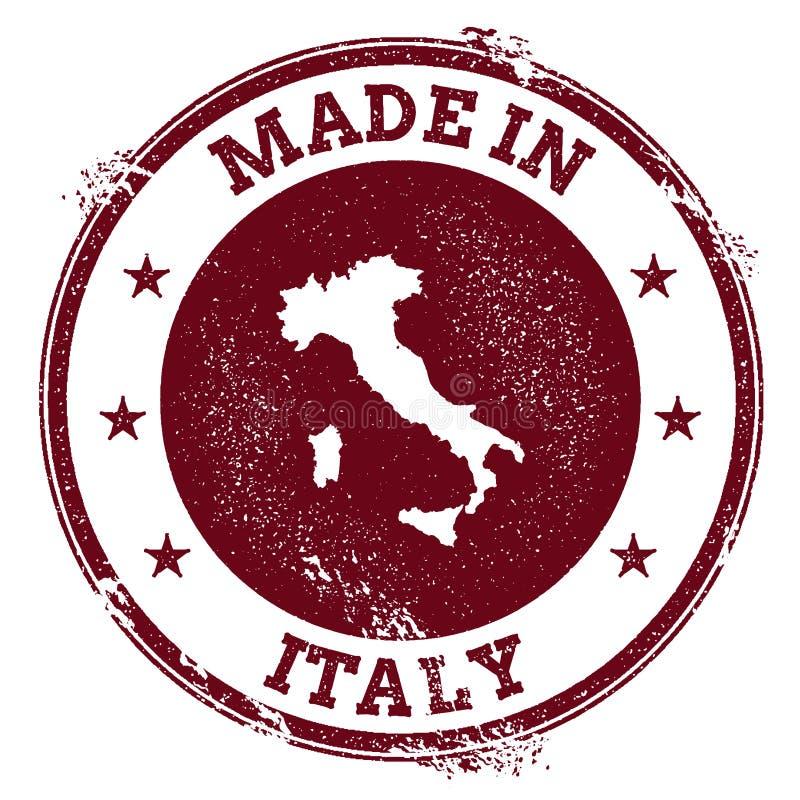 Уплотнение вектора Италии иллюстрация штока