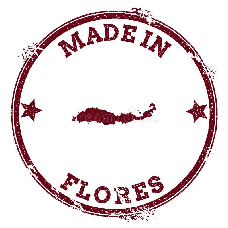 Уплотнение Flores иллюстрация вектора