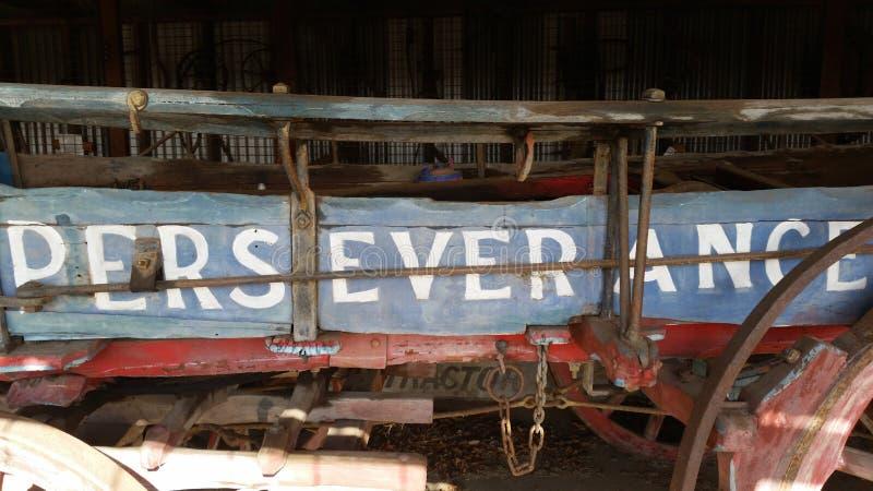 ` Упорства ` Buckboard стоковые фотографии rf