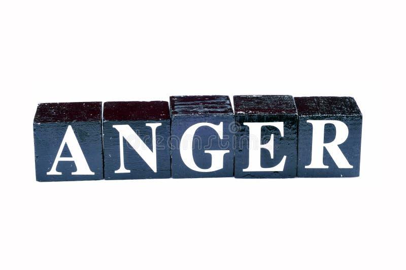 управление гнева стоковая фотография rf