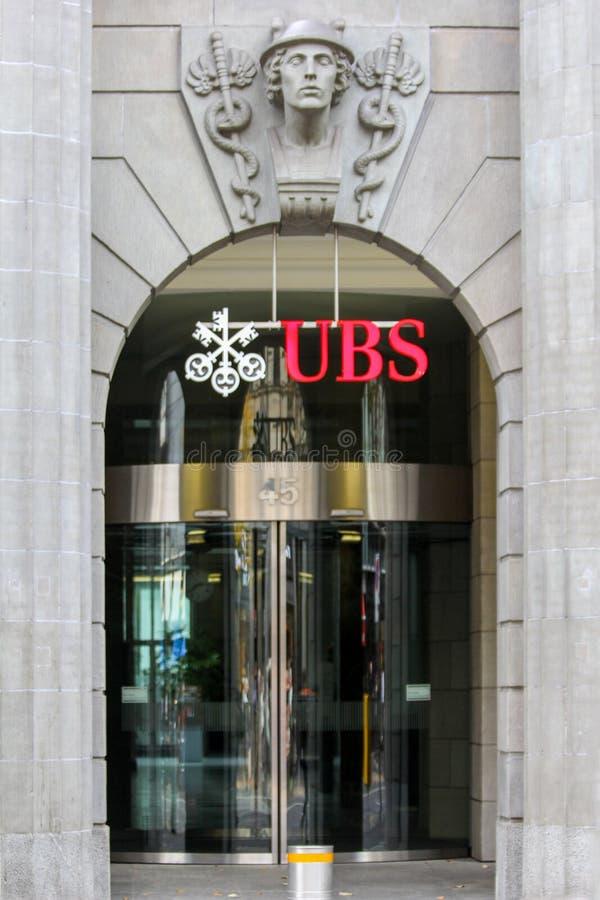 Управление UBS, Цюрих, Швейцария стоковые изображения rf