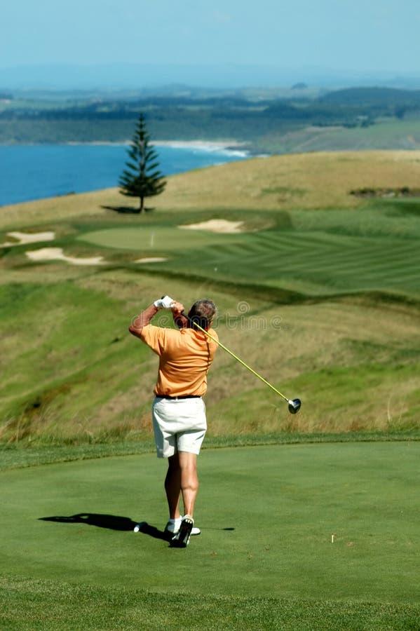 управляйте гольфом длинним стоковое фото rf