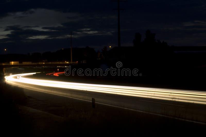 управляйте ночой стоковые изображения rf