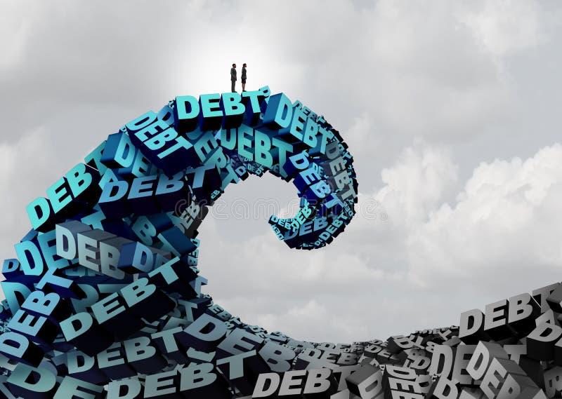 Управляя возможность задолженности бесплатная иллюстрация