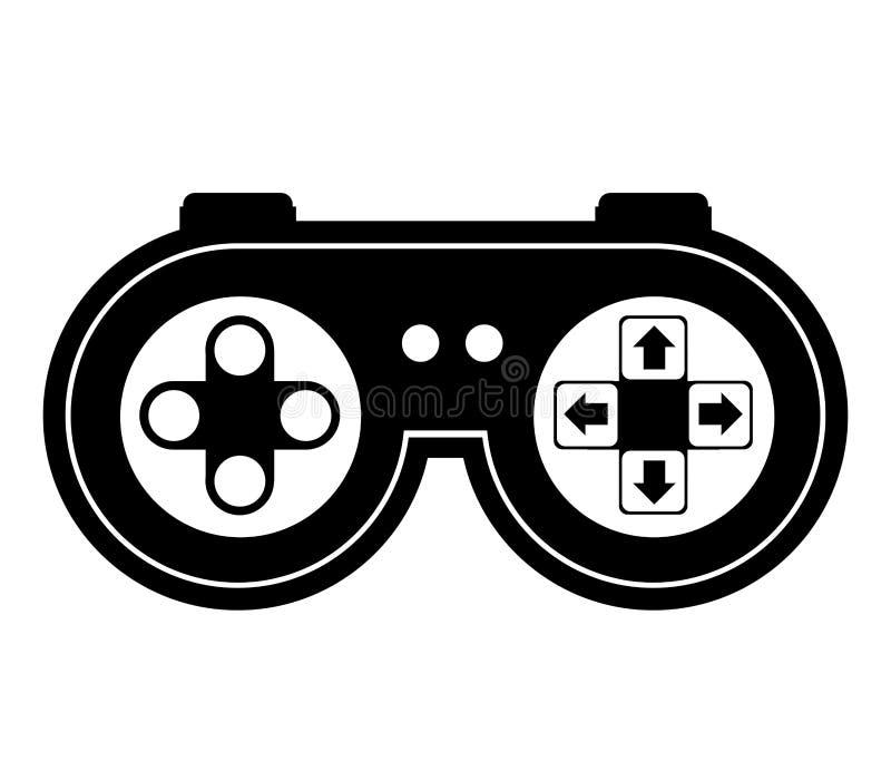 Управление видеоигры бесплатная иллюстрация