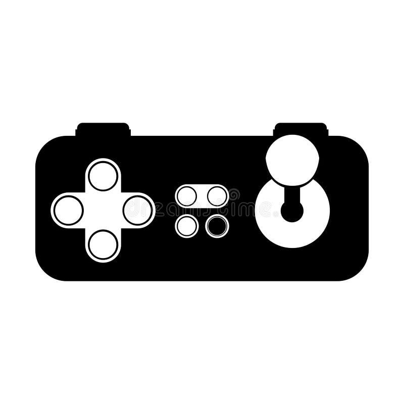 Управление видеоигры иллюстрация вектора