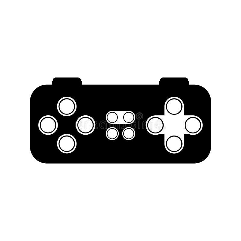 Управление видеоигры иллюстрация штока