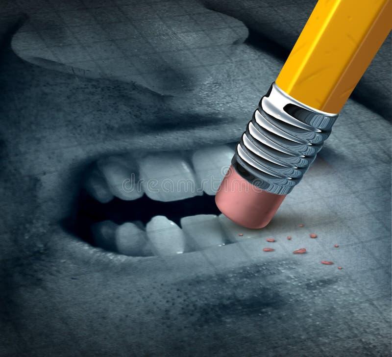 Управление гнева иллюстрация вектора