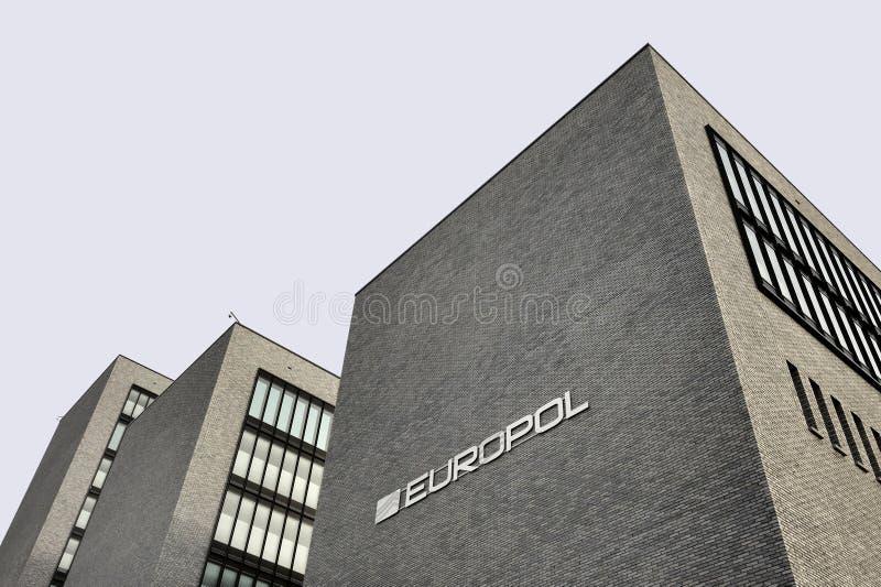 Управление Европола в Гааге, вертепе Haag. стоковое изображение