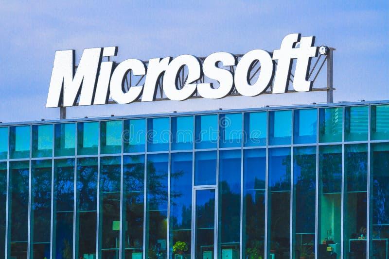 Управление Майкрософта стоковое изображение rf