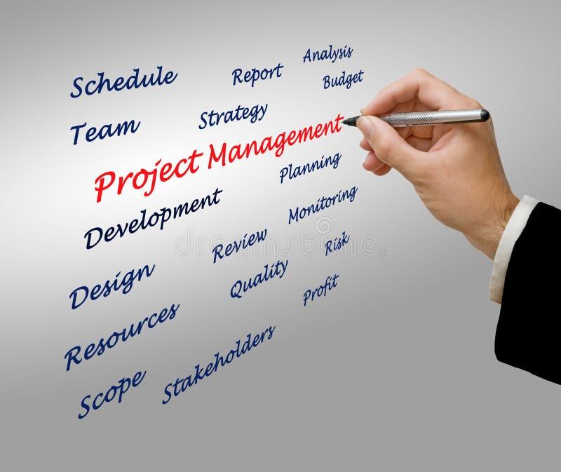 Управление проектами стоковое фото rf