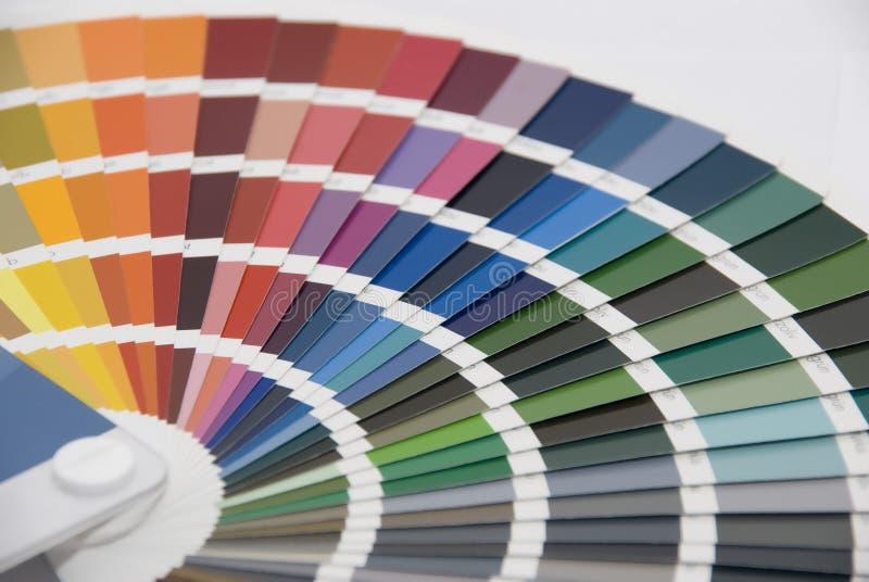 Управление цвета/диаграмма цвета стоковая фотография rf