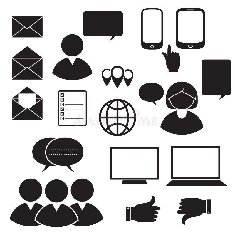 Управление, люди дела и люди офиса бесплатная иллюстрация