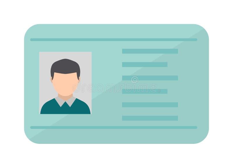 Управлять иллюстрацией вектора лицензии национального стандарта плоской бесплатная иллюстрация