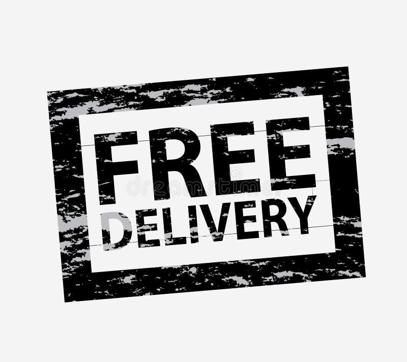Уплотнение бесплатной доставки бесплатная иллюстрация