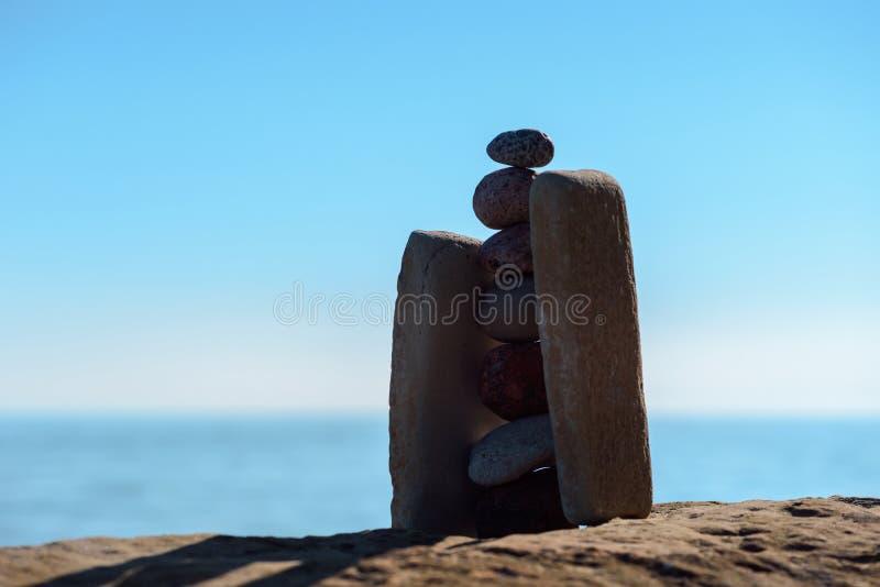 Уравновешенность камней стоковое фото