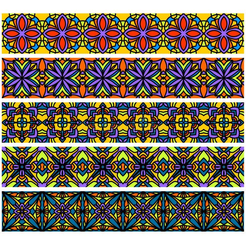 уравновешивание собрания цветастое иллюстрация штока