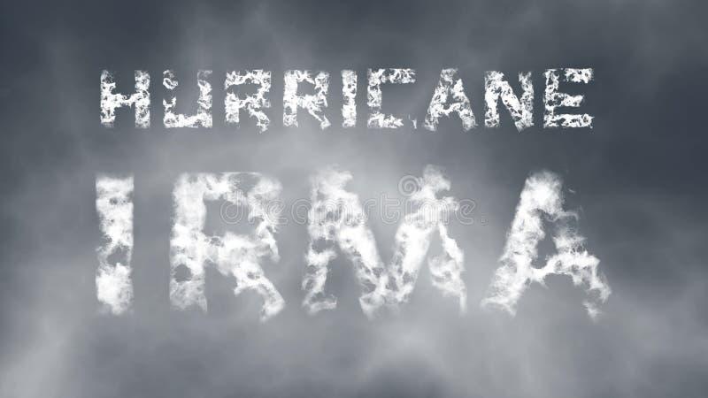 Ураган Ирма бесплатная иллюстрация