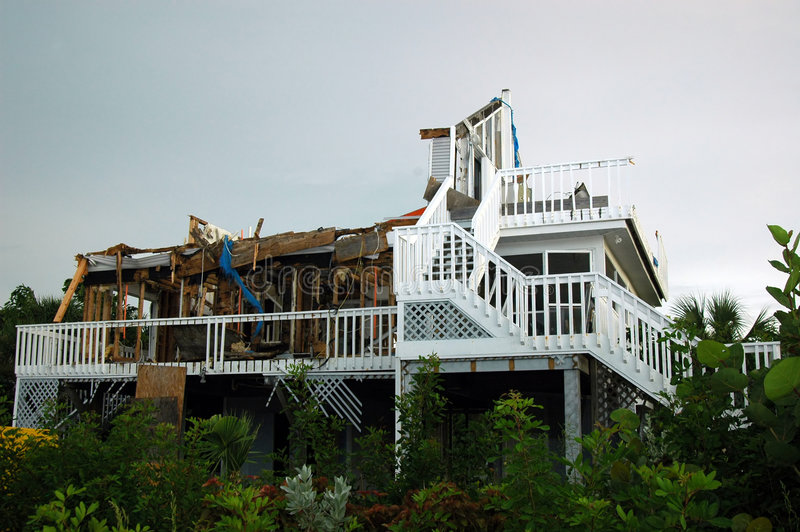 ураган разрушения