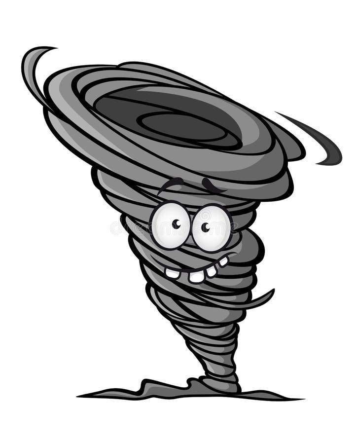 Download Ураган шаржа иллюстрация вектора. иллюстрации насчитывающей изолировано - 33733901