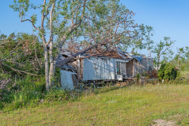 Ураган michael стоковая фотография rf