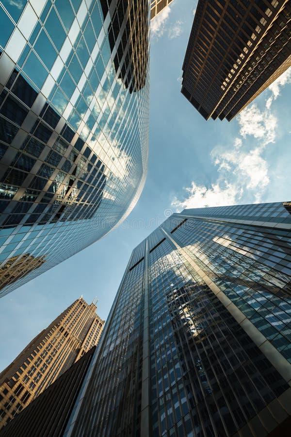 Урбанские небоскребы стоковая фотография