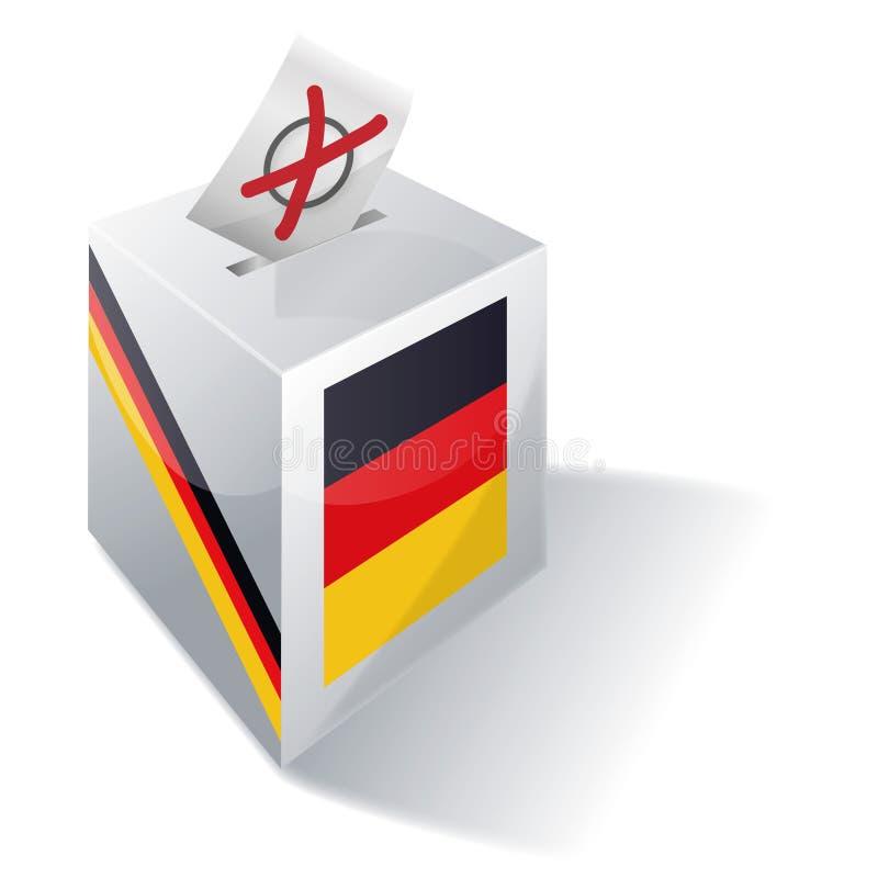 Урна для избирательных бюллетеней Германия бесплатная иллюстрация