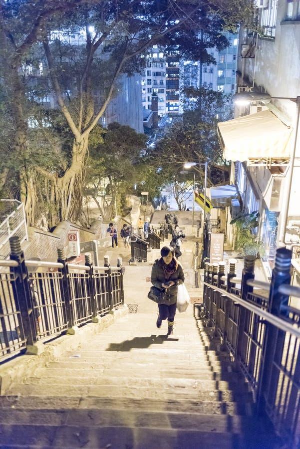 Уровень Гонконга средний стоковая фотография