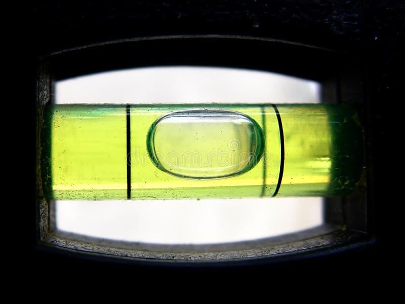 уровень крупного плана пузыря стоковое изображение