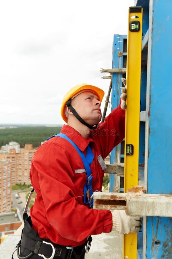 уровень строителя стоковые изображения