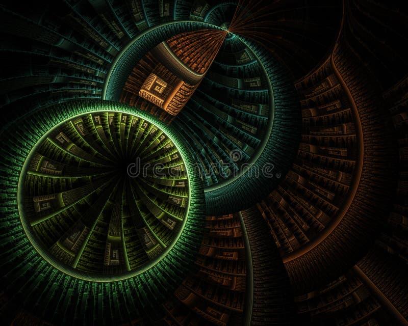 Уровни кругов - тонов земли стоковые фото