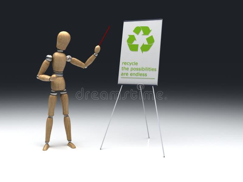 Уроки экологичности стоковая фотография rf