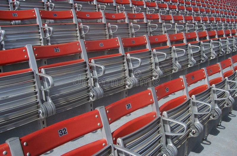 Download усаживает стадион стоковое фото. изображение насчитывающей seating - 84516