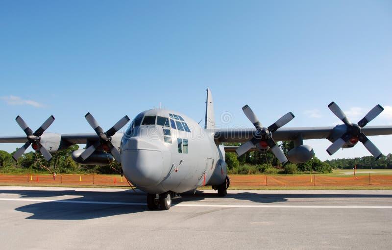 усилие самолета воздуха транспортирует нас стоковая фотография rf