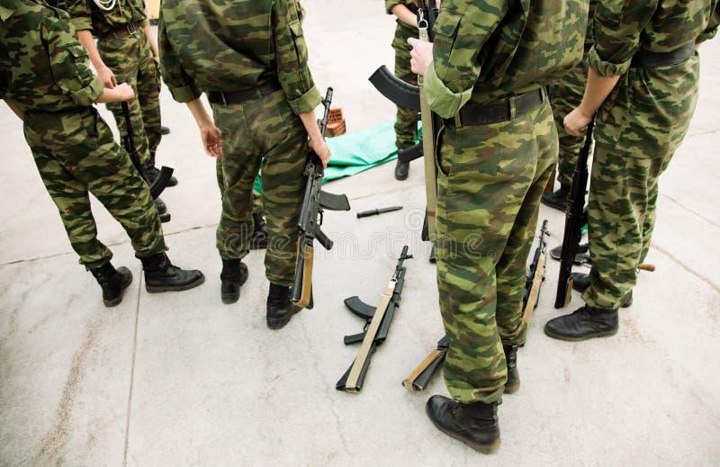 усилия армии стоковое изображение rf