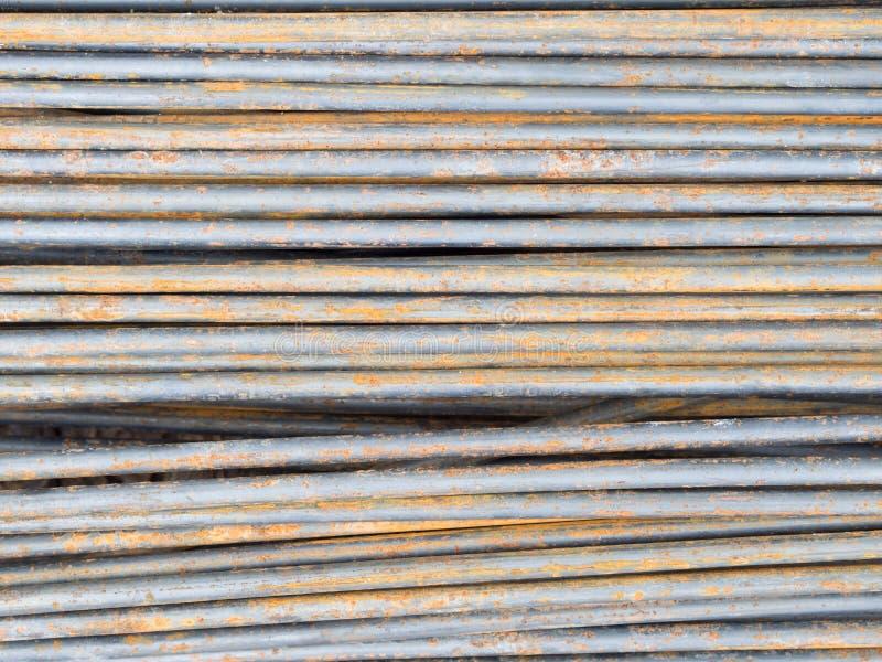 Усильте стальную текстуру штанги стоковые изображения rf